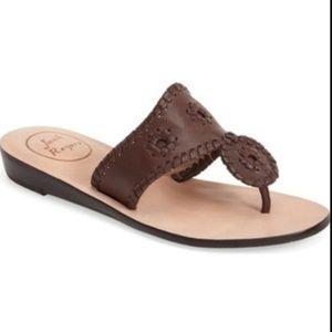 Jack Roger's Capri Brown leather sandals